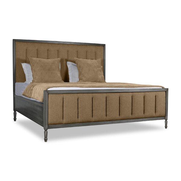 Lanagan Vertical Channel Tufting Upholstered Standard Bed by Rosdorf Park