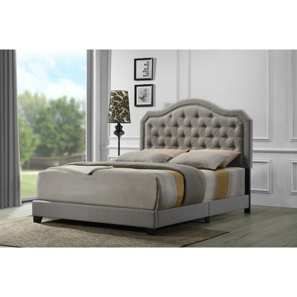 Wyrick Upholstered Standard Bed by Charlton Home