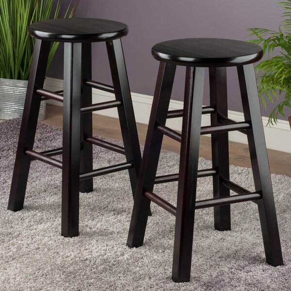 24 Bar Stool (Set of 2) by Winsome
