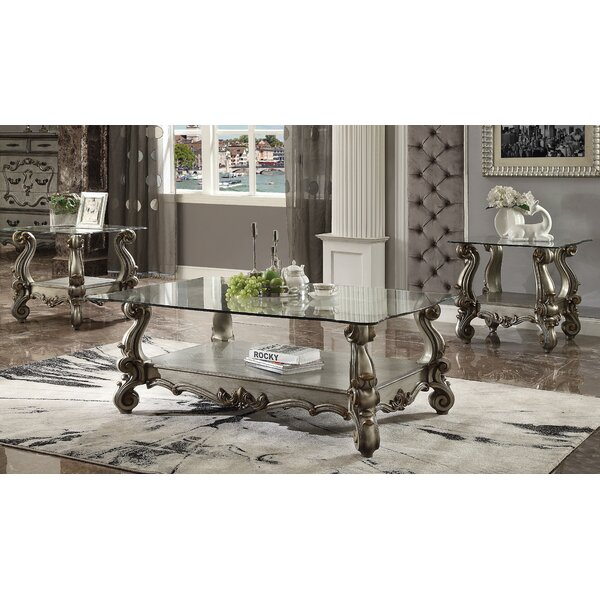 Welton 3 Piece Coffee Table Set By Astoria Grand