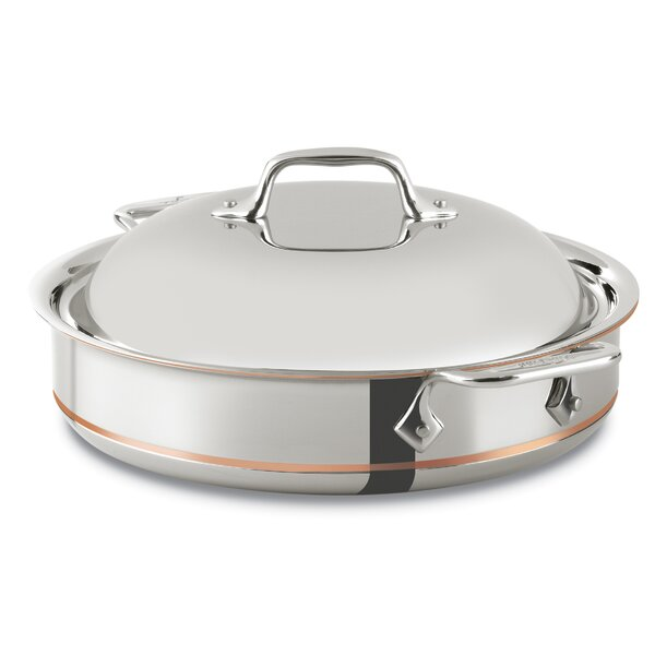 Copper Core 3-qt. Saute Pan with Lid by All-Clad