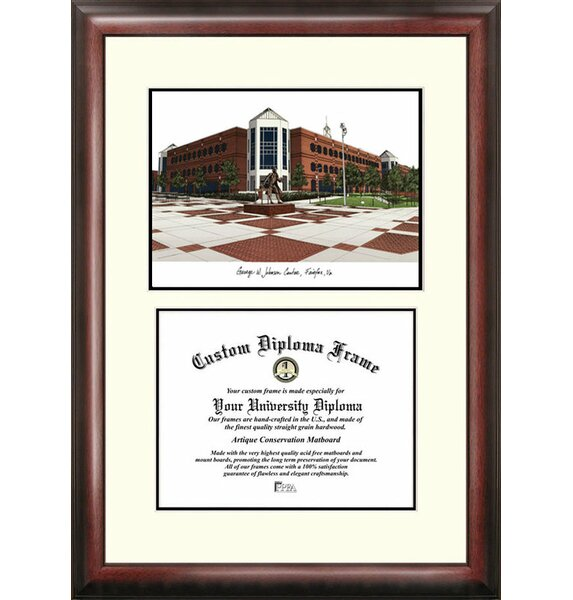 NCAA George Mason University Scholar Diploma Picture Frame by Campus Images
