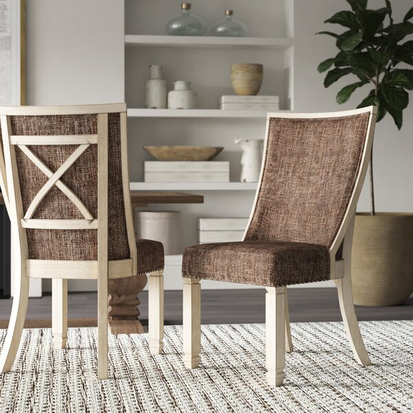 Ramsgate Traditional Dining Upholstered Side Chair (Set of 2) by Three Posts