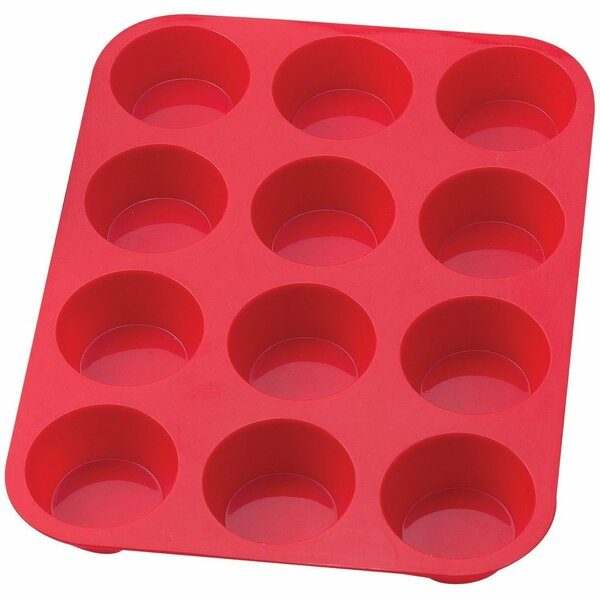 12 Cup Non-Stick Silicone Muffin and Cupcake Pan by Sorbus