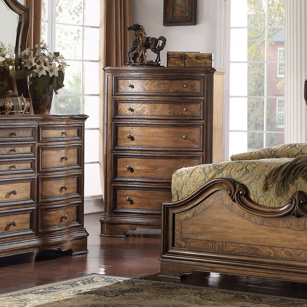 Crispin 5 Drawer Chest by Darby Home Co