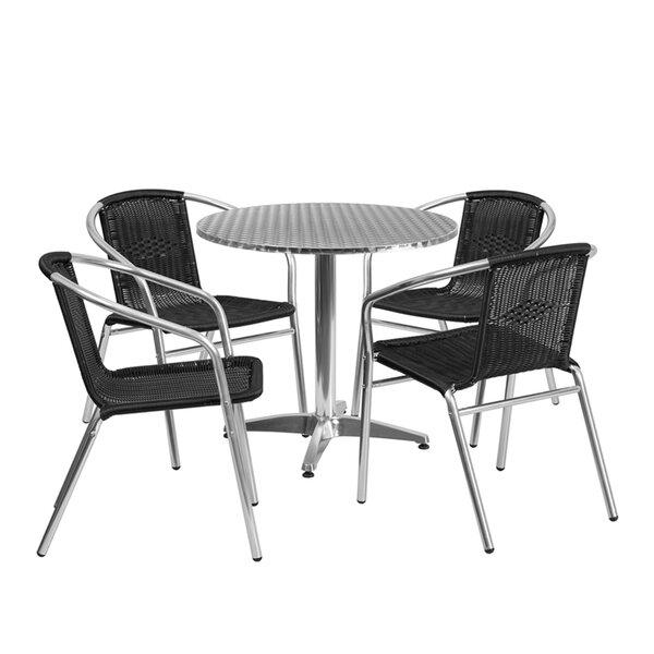 Sayreville 5 Piece Dining Set by Ebern Designs
