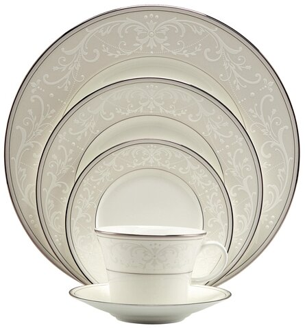 Symphony Bone China 5 Piece Place Setting, Service for 1 by Nikko Ceramics