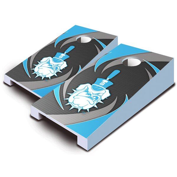10 Piece Swoosh Tabletop Cornhole Set by AJJ Cornhole