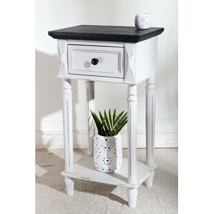 Comparison Iker Ashbury 2-Tier End Table with Storage By August Grove