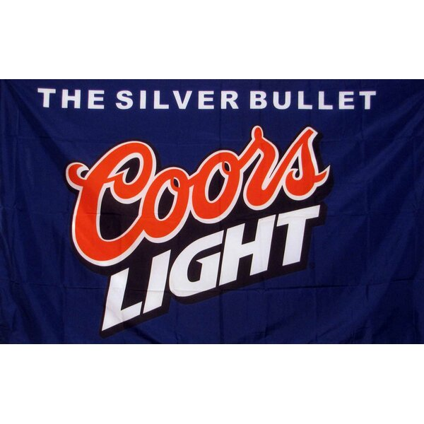 Coors Bullet Polyester 3 x 5 ft. Flag by NeoPlex