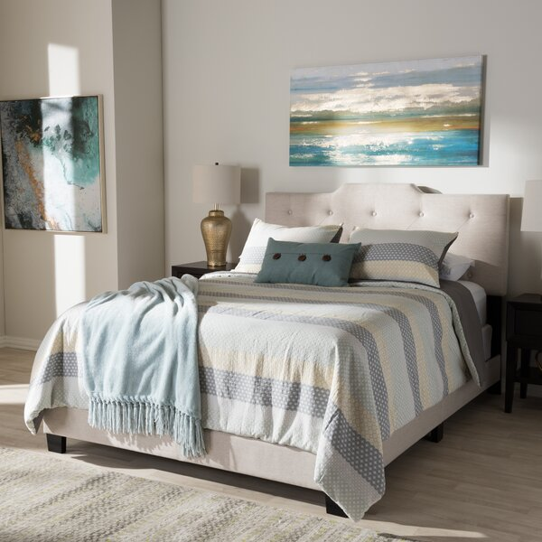Buena Vista Upholstered Standard Bed by Charlton Home