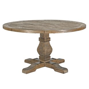 Round Wood Kitchen Tables Round kitchen dining tables styles for your home joss main gertrude dining table workwithnaturefo