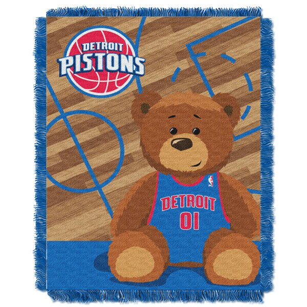 NBA Pistons Half Court Baby Throw by Northwest Co.