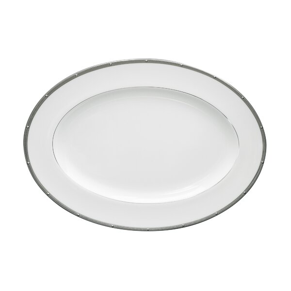 Rochelle Platinum Platter by Noritake