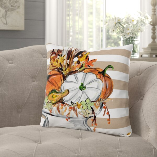 Roncy Fall Vase Throw Pillow by Gracie Oaks