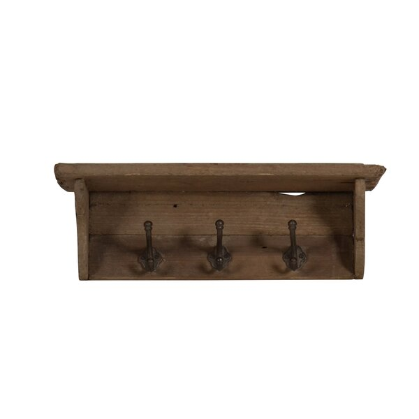 Mcelfresh Wood Wall Shelf by Millwood Pines