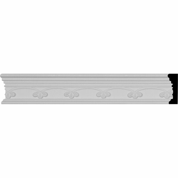 Remington 1 7/8H x 94 1/2W x 3/4D Chair Rail by Ekena Millwork
