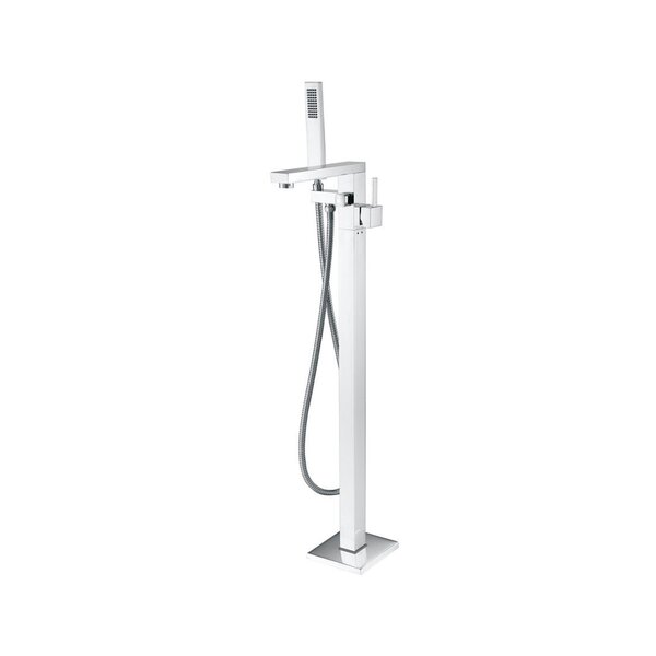 Single Handle Floor Mount Tub Filler by MTD Vanities