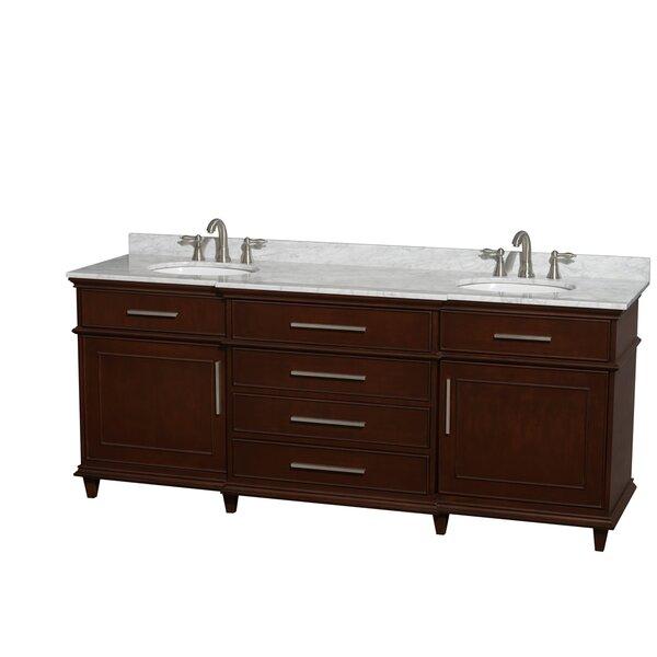 Berkeley 80 Double Bathroom Vanity Set by Wyndham Collection