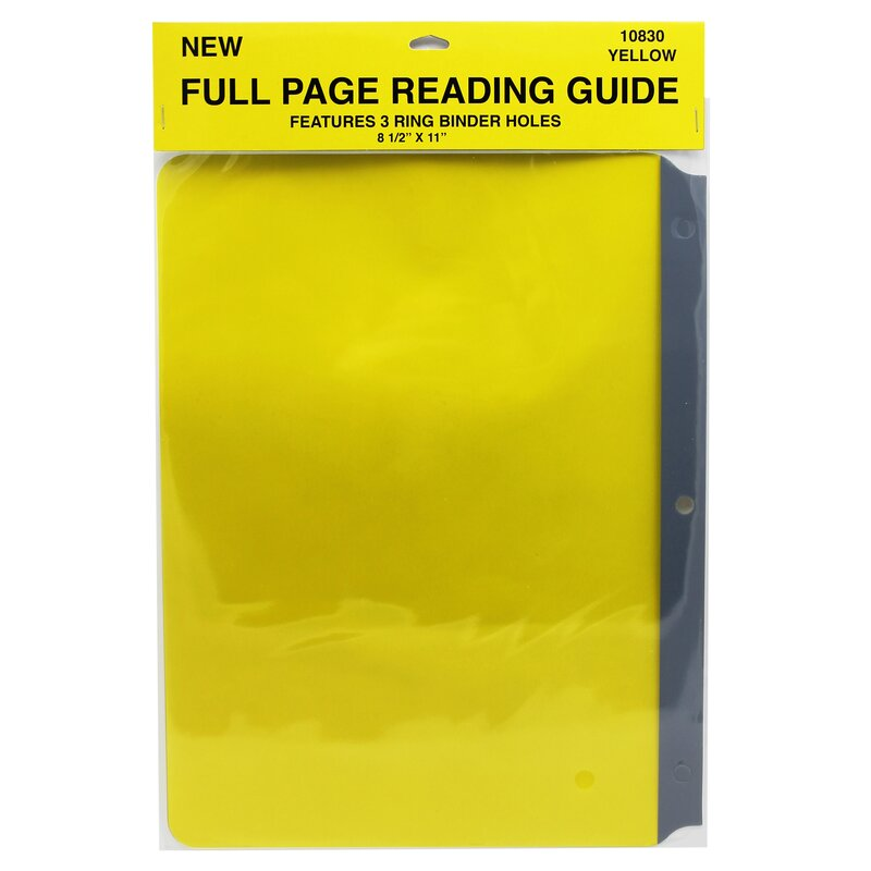 Full Page Reading Guides