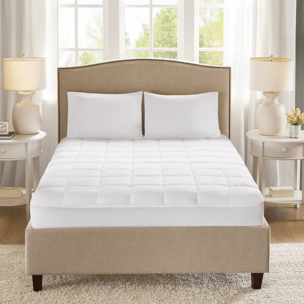 Copper Polyester Mattress Pad by Alwyn Home