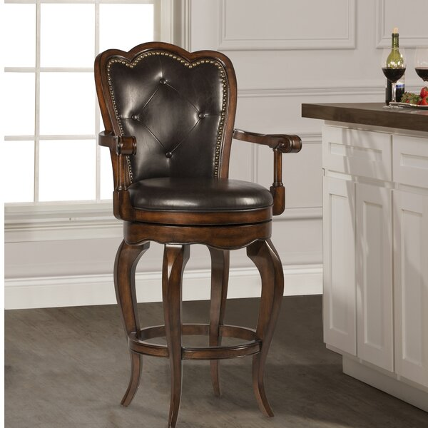 Millington 30 Swivel Bar Stool by Astoria Grand