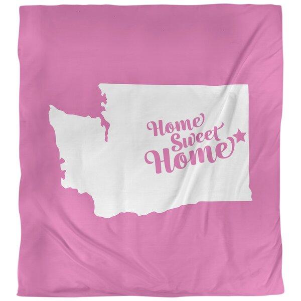 Home Sweet Spokane Single Reversible Duvet Cover