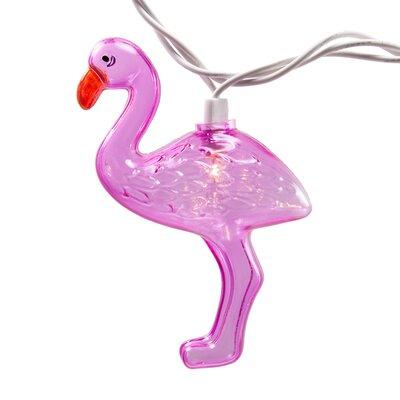 Perine Fun Flamingo 10 Light Novelty String Lights