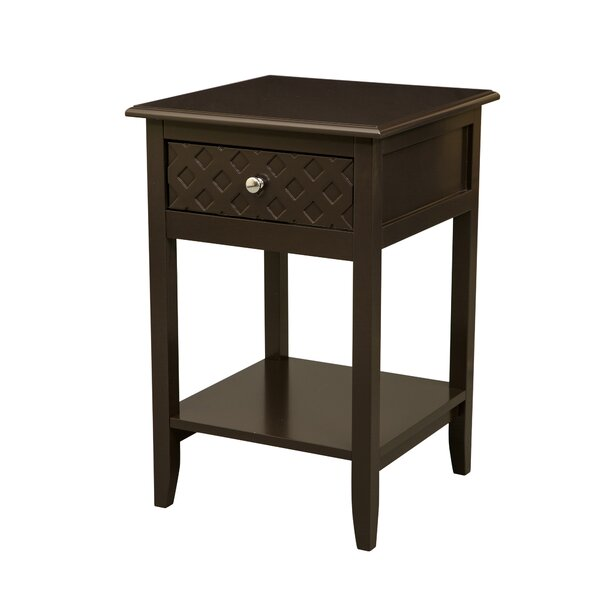 Marsallo End Table with Storage by Winston Porter