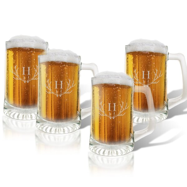 Maximo 15 oz. Sport Mug (Set of 4) by Union Rustic