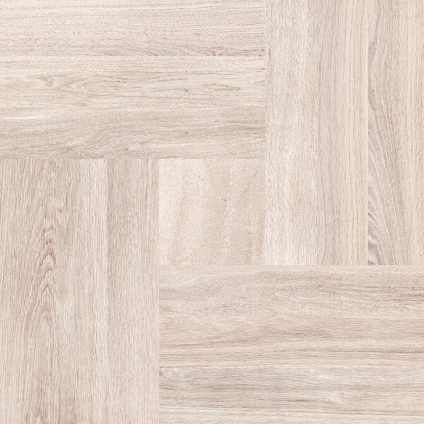 Parquet 20 x 20 Porcelain Wood Look/Field Tile in Cream by Emser Tile