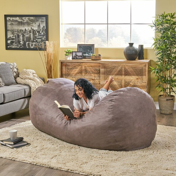 Larson Extra Large Bean Bag Sofa By Home Loft Concepts