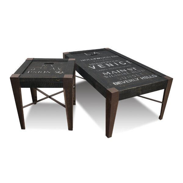 Sandie 2 Piece Coffee Table Set by 17 Stories