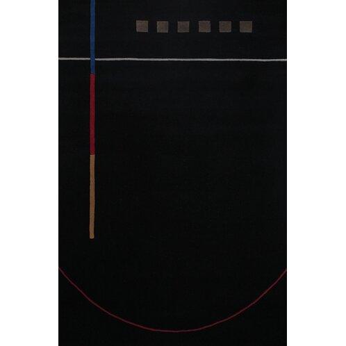 Debra Black/Gray Area Rug by Corrigan Studio
