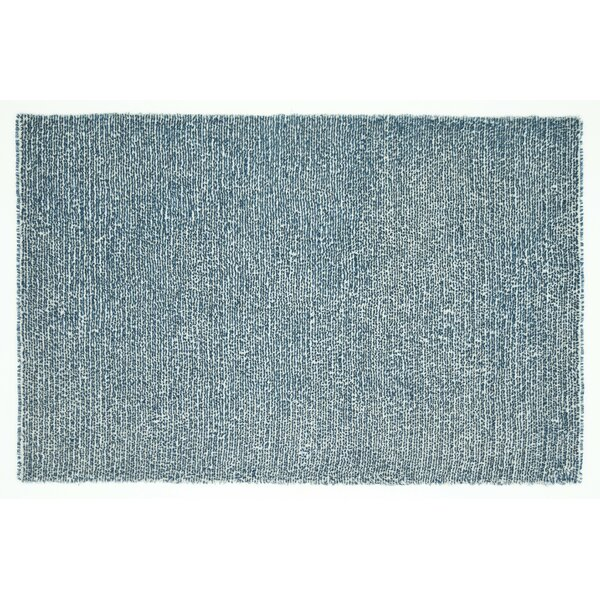 Baryzhikova Hand-Tufted Denim Blue Area Rug by Highland Dunes
