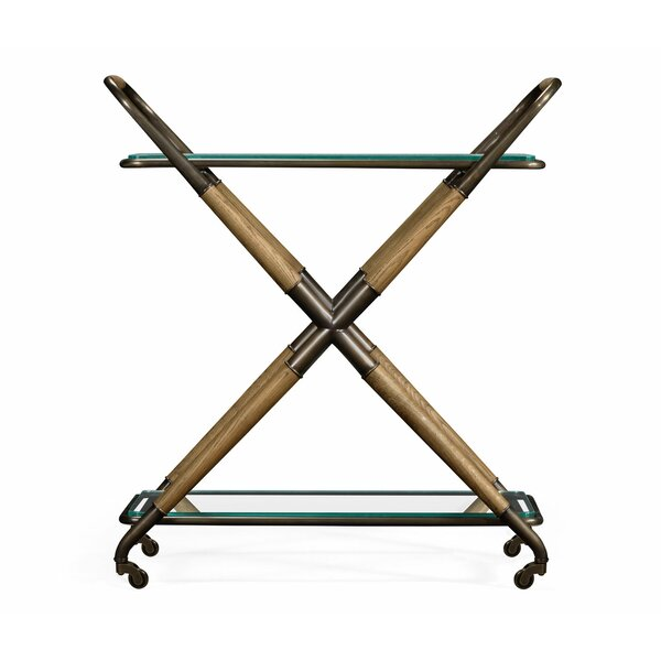Urban Cool Kathleen Bar Cart by Jonathan Charles Fine Furniture