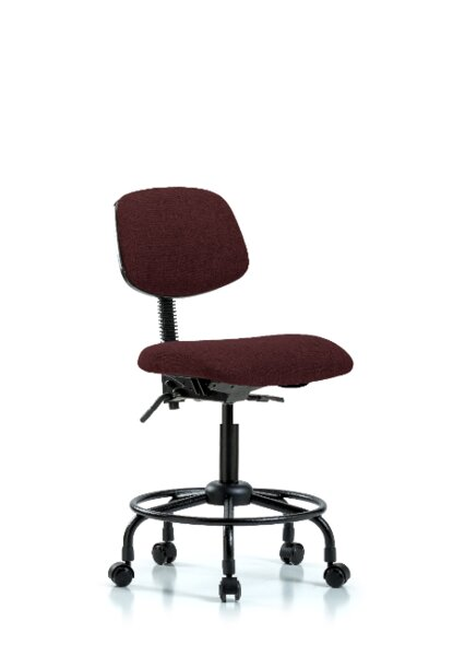 Hattie Round Tube Base Ergonomic Office Chair by Symple Stuff