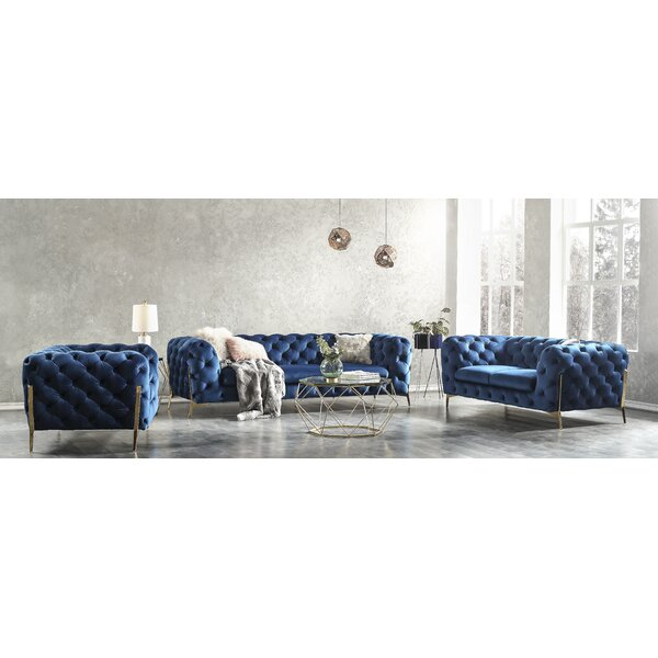 Dziedzic Configurable Living Room Set By Everly Quinn