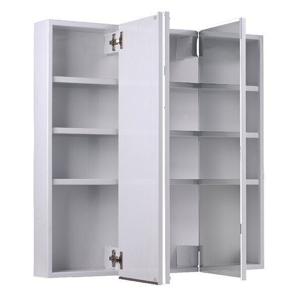 Karl 30 H x 24 W Surface Mounted Medicine Cabinet