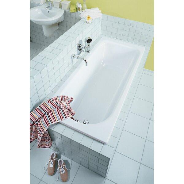 Saniform Plus 63 x 28 Soaking Bathtub by Kaldewei