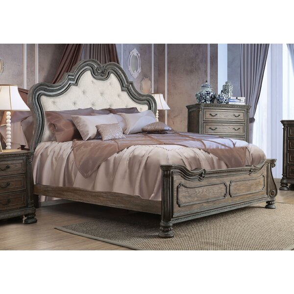 Portsmouth Upholstered Standard Bed by One Allium Way
