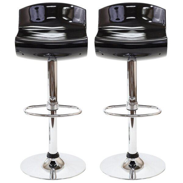 Dazzle Adjustable Height Swivel Bar Stool (Set of 2) by Modway