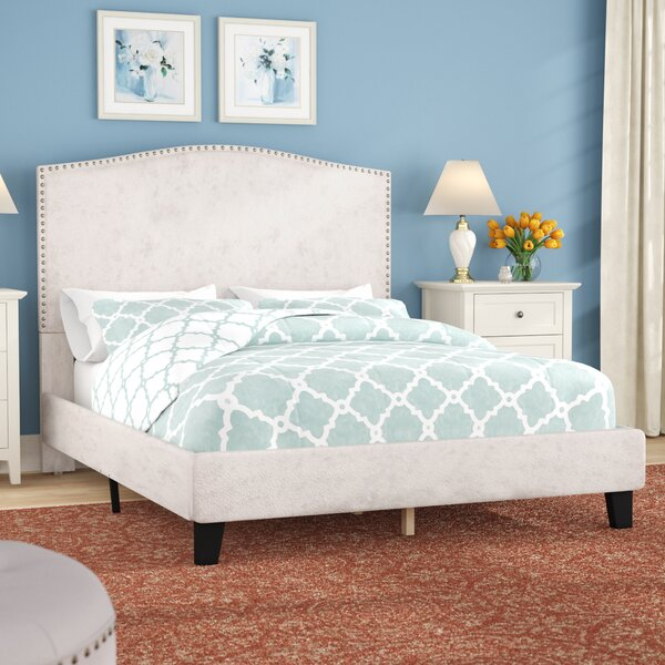 Mckissick Upholstered Panel Bed by Charlton Home