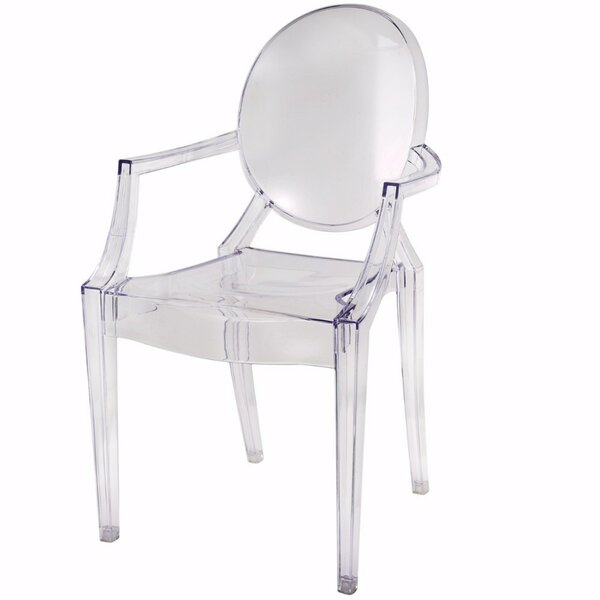 Tamona Transparent Armchair by House of Hampton