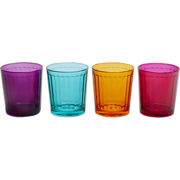 Column with Style 13 oz. Double Old Fashioned Glass (Set of 4) by Circle Glass
