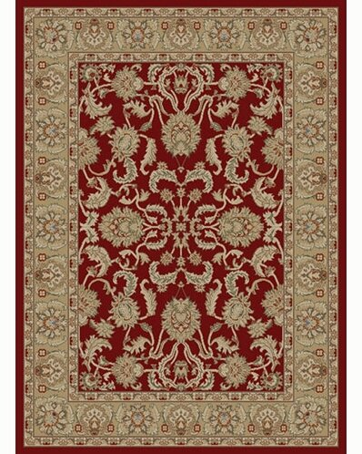 Ankara Oushak Red Rug by Threadbind