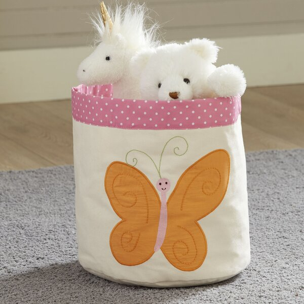 Butterfly Canvas Bin by Birch Lane Kids™