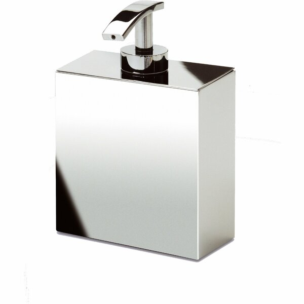 Sisler Box Metal Pump Soap & Lotion Dispenser by Orren Ellis