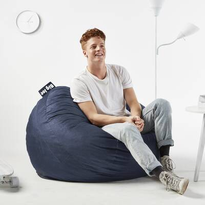 Astonishing Fuf Large Bean Bag Chair Squirreltailoven Fun Painted Chair Ideas Images Squirreltailovenorg