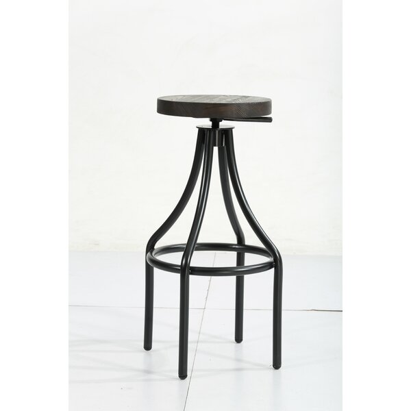 Aydin Vintage Style 30 Bar Stool by 17 Stories